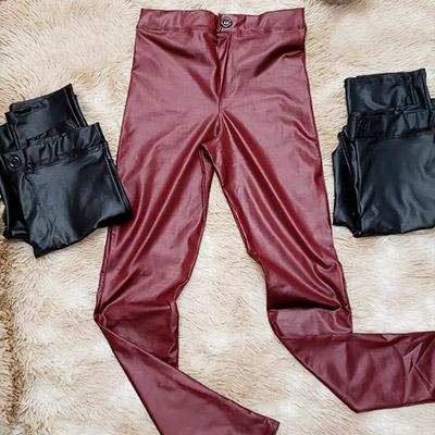 Calça Skinny em Cirrê | Passarela da Moda