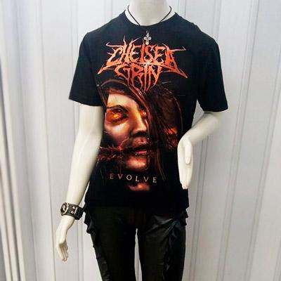 Camisa Estampa Banda de Rock | Capitão do Rock