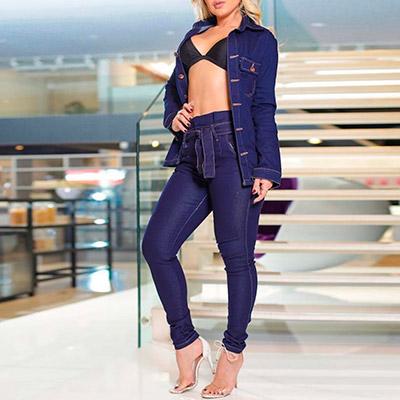 Jaqueta Jeans Feminina   Passarela da Moda