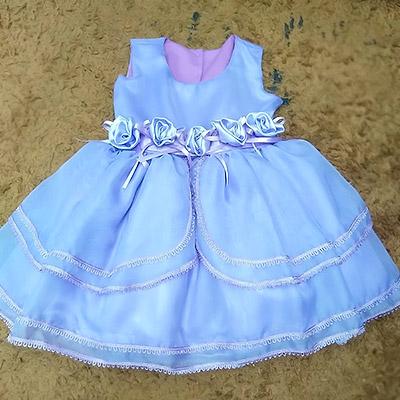Vestido Infantil de Festa | Ti-Kim de Gente