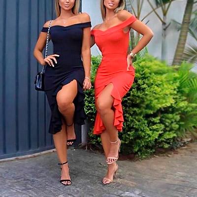 Vestido Modelo Ciganinha | Espaço SD Modas