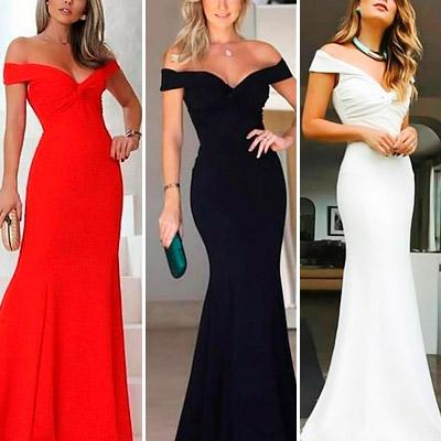 Vestido de Festa Longo | Espaço SD Modas