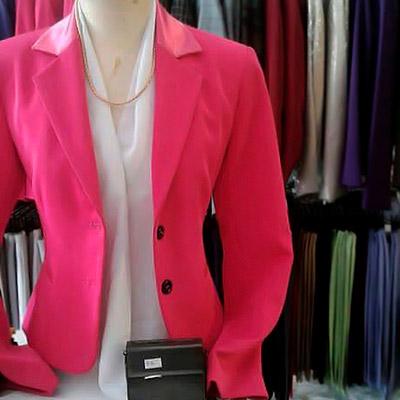 Blazer Feminino Rosa | Ki Sun Alfaiataria