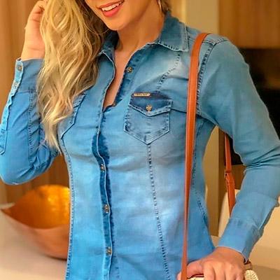 Blusa Feminina Jeans | Soul Jeans