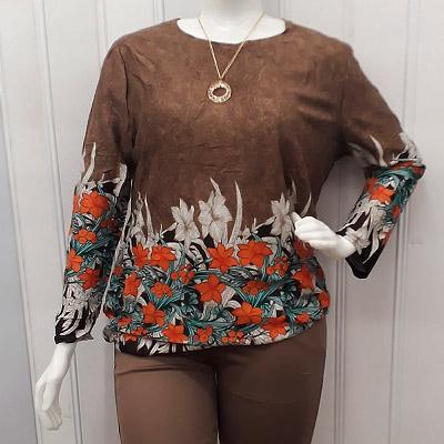Blusa Plus Size Feminina | Mais Você