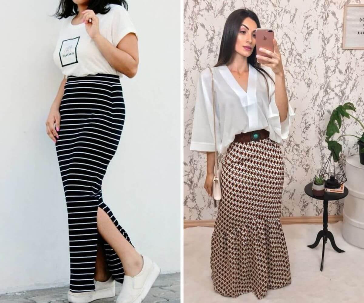 como usar saia longa dicas blog feira shop bh