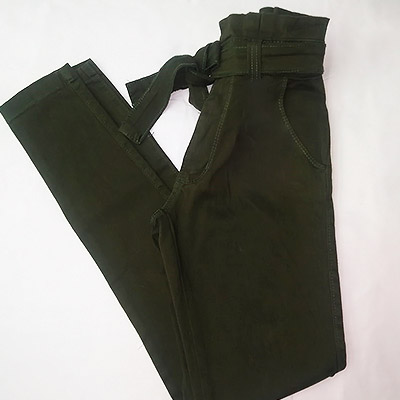 Calça Clochard Verde Militar | Moda&Stillo