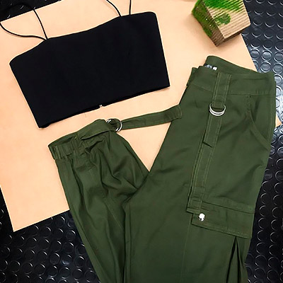 Calça Jogger Feminina Modelo Militar | A'Lohr