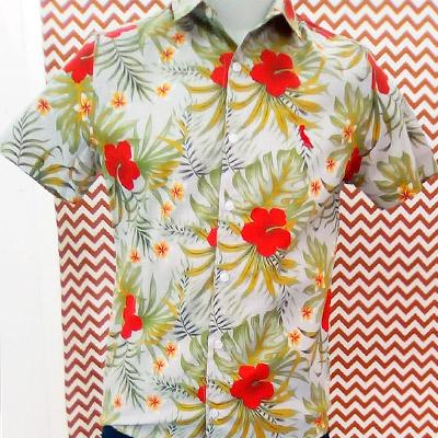 Camisa Masculina Estampa Floral | The Gentleman