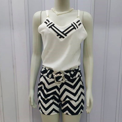 Conjunto Blusa e Short Feminino | Ima Fashion
