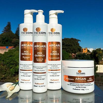 Kit Linha Argan e D-Pantenol | Segredos Hair Cosméticos
