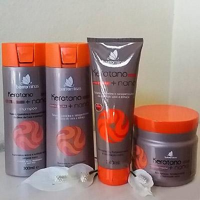 Kit Linha Keratano + Nano Barro Minas | Segredos Hair Cosméticos