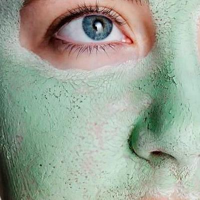 Máscara de Argila Verde   LúLU's Beauty Box