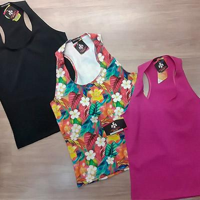 Regatas Suplex Feminina | Vanessa Andrade Moda Fitness