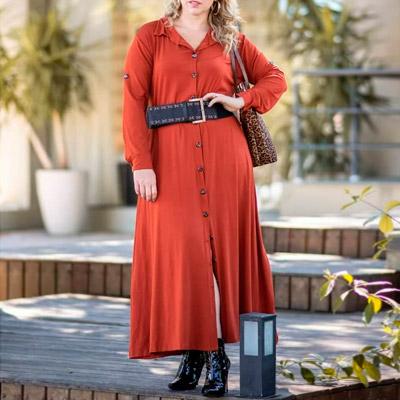 Vestido Longo Plus Size | Lili Elegância Plus