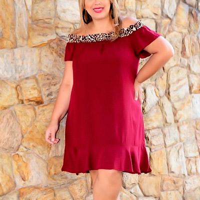 Vestido Vermelho Plus Size | Cheia de Charme
