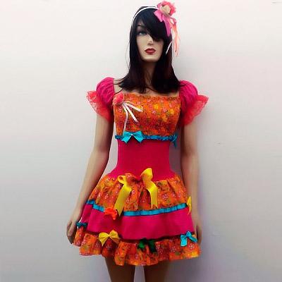 Vestido de Festa Junina | Moda Cherye