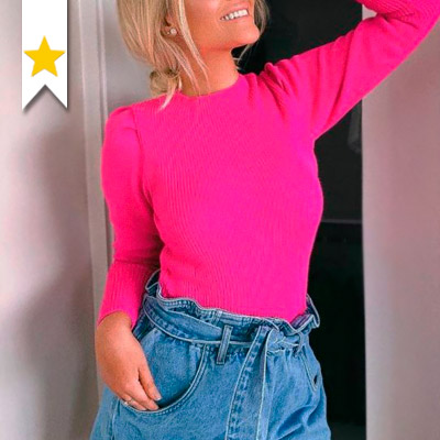 Blusa Tricot Feminina | Exclusiva Moda