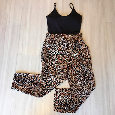 Calça Pantacourt Animal Print | Ana Bella
