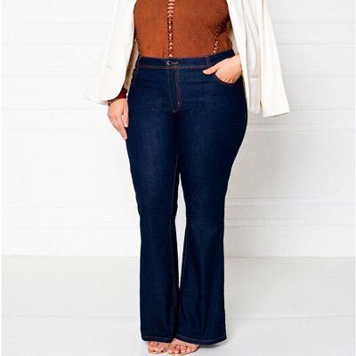 Calça Plus Size Feminina | Ateliê Jeans