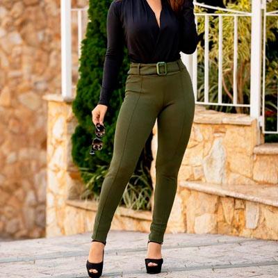Calça Skinny Feminina | Menina Mulher