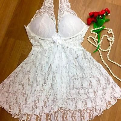 Camisola de Renda Branca | Luds Lay