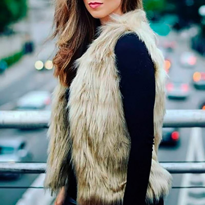 Colete Alongado Feminino | Vitorianna Modas