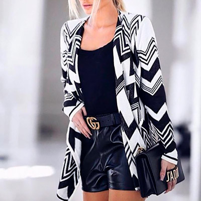 Kimono Longo de Tricô | Stylo Girls
