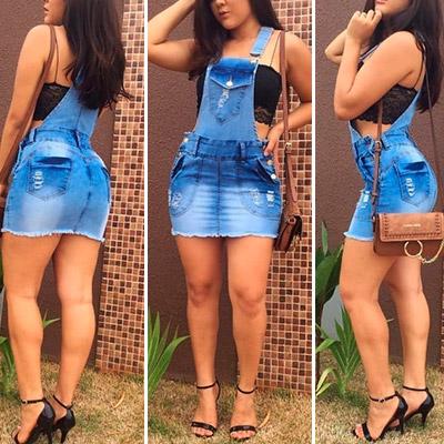 Salopete Jeans Feminina | Soul Jeans