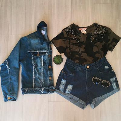 Short Jeans Feminino | Ana Bella