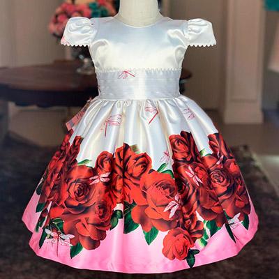 Vestido Godê Infantil | Cia do Vestido