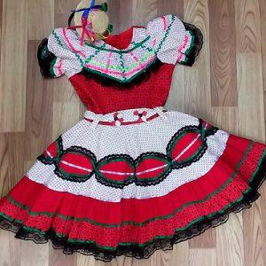 Vestido Infantil de Quadrilha   Sonho de Criança