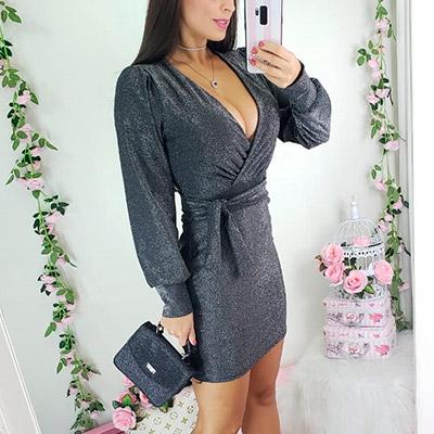 Vestido Lurex Feminino | Stylo Girls