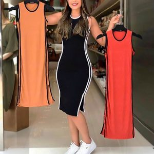 Vestido Midi Feminino   Mania de Ser Bonita