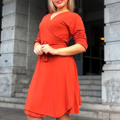 Vestido Transpassado Plus Size | Lili Elegância Plus