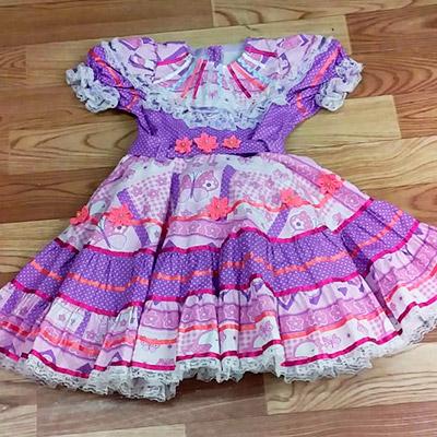 Vestido de Quadrilha Infantil | Sonho de Criança