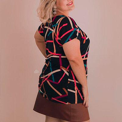 Blusa Plus size   Ana Bella