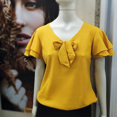 Blusa em Viscose Mostarda | Gra Modas