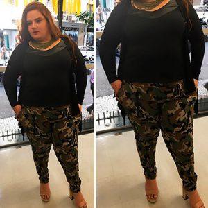Calça Camuflada Plus Size | Lili Elegância Plus