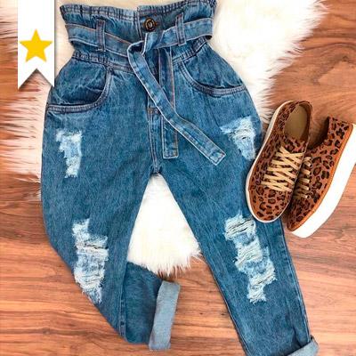 Calça Jeans Clochard | Marina Maynarte Modas