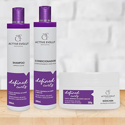 Kit Shampoo Condicionador e Mascara Capilar | Andreia Cosméticos