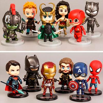 Miniaturas de Heróis | Orange Gifts