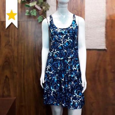 Vestido Estampado Feminino | Kell Modas