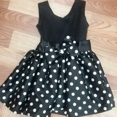 Vestido Infantil Preto | Menina Morena Vestidos