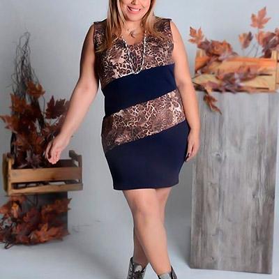 Vestido Plus Size | Lili Elegância Plus