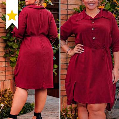 Vestido Plus Size Feminino | Eliane Dias Moda