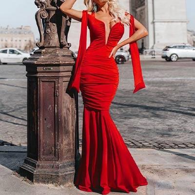 Vestido de Festa Longo | Stylo Girls