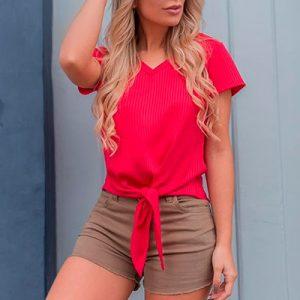 Blusa Canelada Feminina | Ilana Santana Store