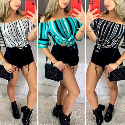 Blusa Ciganinha Feminina | Guimel Modas