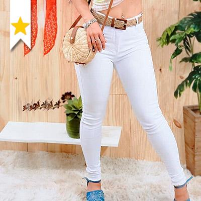 Calça Jeans Branca | Club Pop